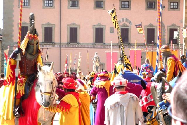 Agriturismo Cortona, Arezzo durante il Saracino